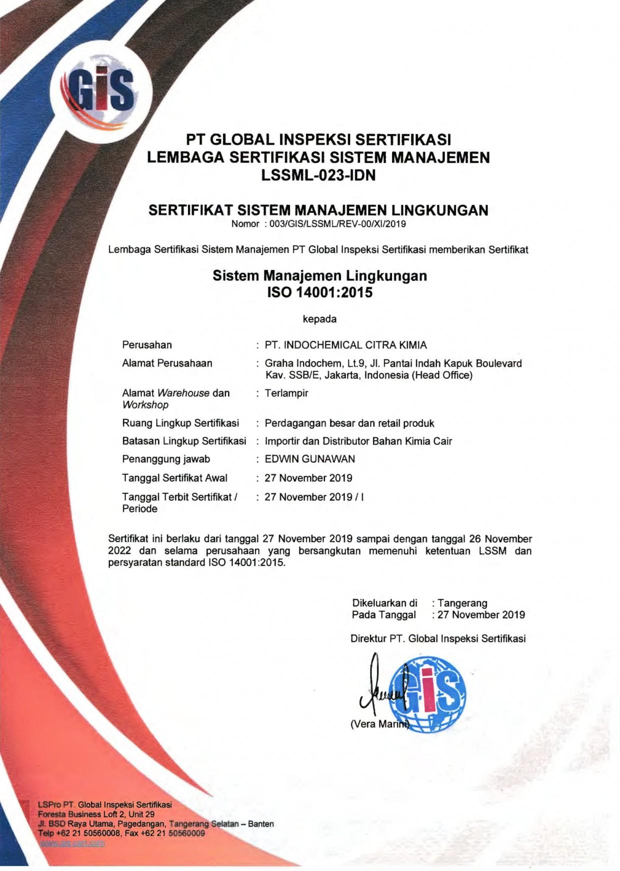 award indochem company